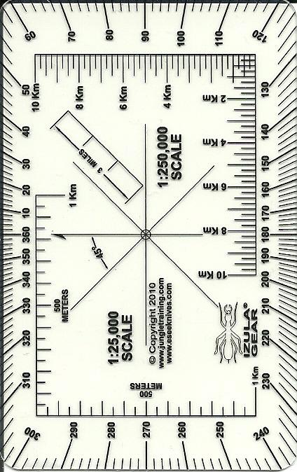 esee izula gear navigation cards including roamers